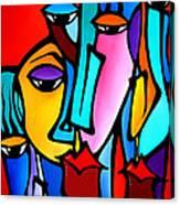 Crazy Loco Canvas Print