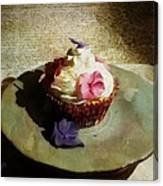 Creamy Cake Canvas Print