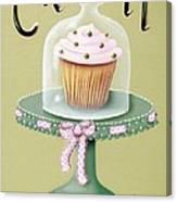 Creamy Cupcake Canvas Print