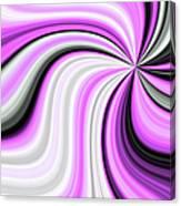 Creamy Pink Graphic Canvas Print