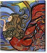 Creating Inspiration - Mermaid Canvas Print