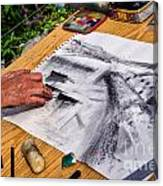 Creating The Cobb Canvas Print