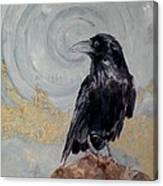 Creation - A Raven Canvas Print