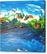 Creation II Canvas Print