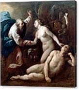 Creation Of Eve Canvas Print