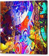 Creation Of Stars Canvas Print