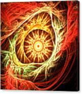 Creation Of Sun Canvas Print