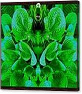 Creatures In The Green Fauna Canvas Print