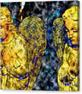 Creche Angels 8 Canvas Print
