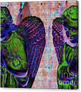 Creche Angels 9 Canvas Print