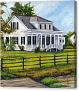 Creedmoor Plantation Canvas Print