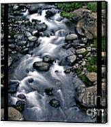 Creek Flow Polyptych Canvas Print