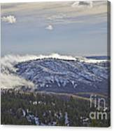 Creeping Fog Canvas Print