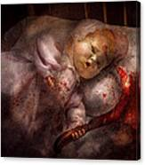 Creepy - Doll - Night Terrors Canvas Print