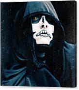 Creepy Skeleton Canvas Print