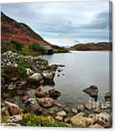 Cregennan Lakes Canvas Print