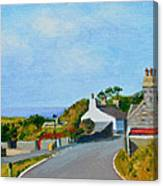 Cregneash Heritage Village Isle Of Man Canvas Print