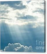 Crepuscular Rays Canvas Print