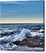 Crescent Bay #1 Canvas Print