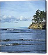 Crescent Bay #2 Canvas Print
