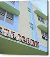 Crescent Hotel Canvas Print
