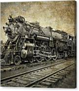 Crescent Limited Locomotive Of 1927 Canvas Print