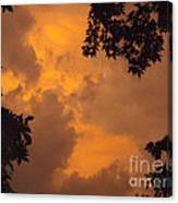 Cresting The Storm Clouds Canvas Print