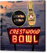 Crestwood Bowl Restored Canvas Print