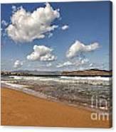 Cretan Beach Canvas Print