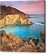 Cretan Coastline. Canvas Print