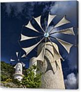 Creton Windmills Canvas Print