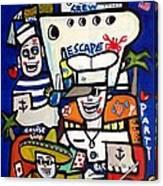 Crew Escape Cruise . Canvas Print