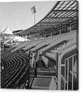 Cricket Pavilion Canvas Print