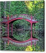 Crim Dell Bridge In Summer Canvas Print