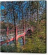 Crim Dell Bridge Spring Canvas Print