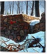 Crimson Morning Canvas Print