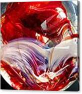 Crimson Orb Canvas Print