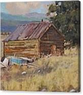 Cripple Creek Cabin Canvas Print
