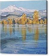 Crisp Morning Canvas Print