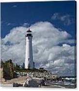 Crisp Point Lighthouse 15 Canvas Print