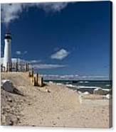 Crisp Point Lighthouse 17 Canvas Print