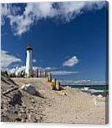 Crisp Point Lighthouse 18 Canvas Print