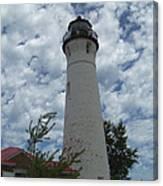 Crisp Point Lighthouse3 Canvas Print