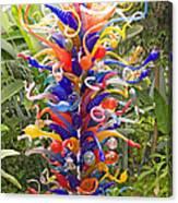 Cristal Garden 2 Canvas Print