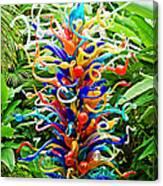 Cristal Garden Canvas Print