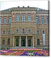 Croatian Academy Of Sciences And Arts  Canvas Print