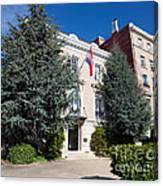 Croatian Embassy Canvas Print
