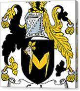 Croke Coat Of Arms Irish Canvas Print