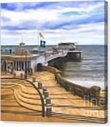 Cromer Pier Norfolk Canvas Print