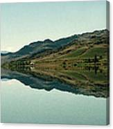 Cromwell Dam Reflections Canvas Print